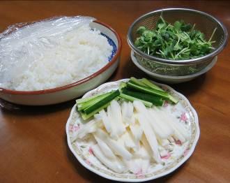 ヤマイモ、手巻き寿司用