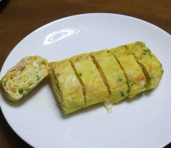 アサツキ入り卵焼き