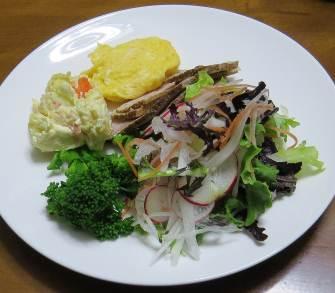 生野菜サラダ3