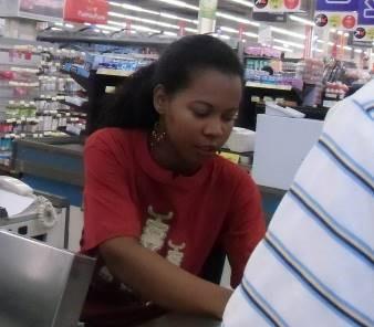 マダガスカルの女性2