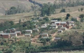 マダガスカル田舎の家