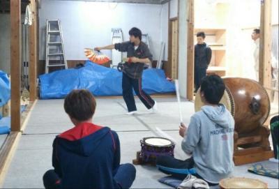 中川戸さん練習土蜘蛛?
