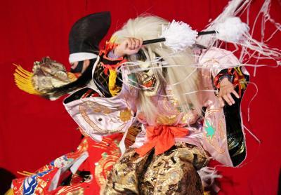 吉田神楽団 紅葉狩2