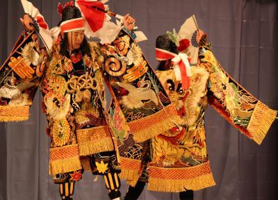 三谷神楽団 矢幡1
