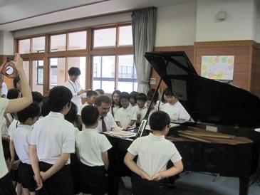 学校クラスコンサート1
