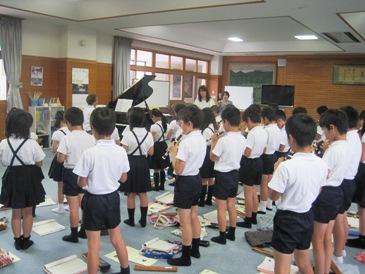 学校クラスコンサート4