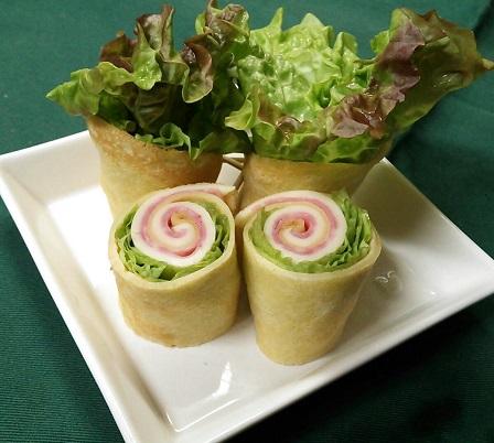 クレープサラダ
