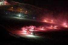 第13回胎内写真コンテスト優秀賞トーチ滑降_スキー場