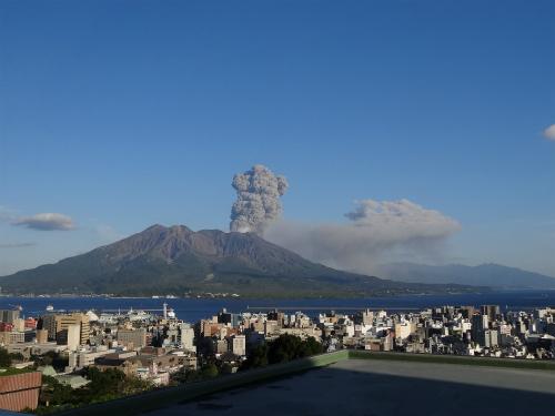 桜島の噴火 2013年