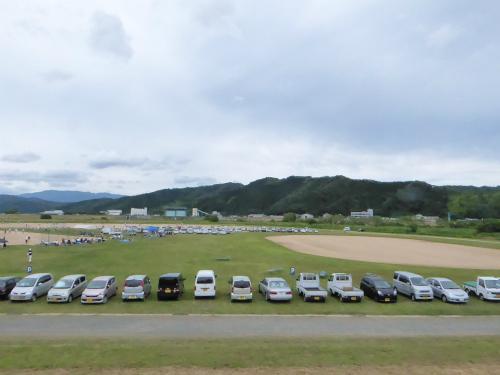 円山川運動公園にて