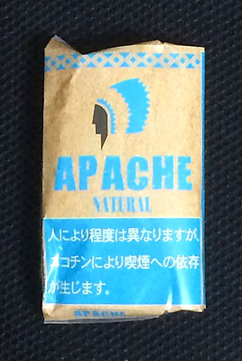 APACHE_NATURAL APACHE アパッチ・ナチュラル アパッチ 無添加シャグ 手巻きタバコ RYO