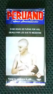 PERUANO, Tabaco_de_liar ウルグアイのシャグ tabaco uruguayo RYO 手巻きタバコ