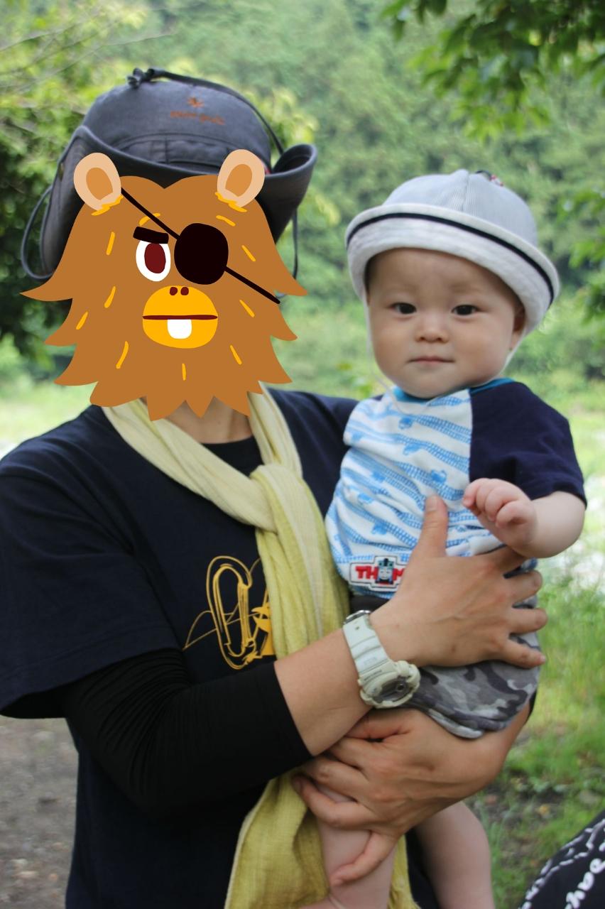 20150613-ブルーと赤ちゃん