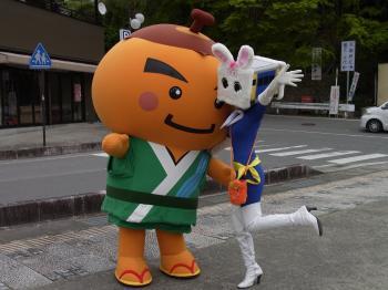 柿.丸&はいぶりっこちゃん