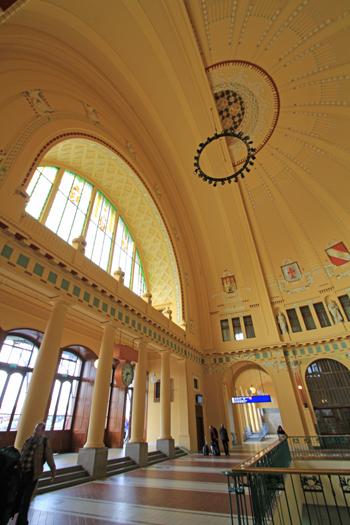 プラハ本駅2015-6