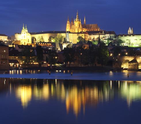 プラハ城夜景2015-3