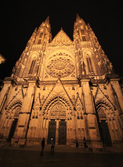 プラハ城夜景2015-6