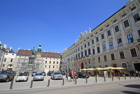 ウィーン王宮2015-7