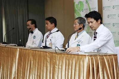 タイ初のMERS患者病院画像