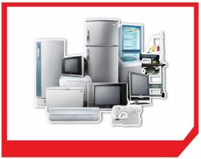 サハグループの電化製品画像