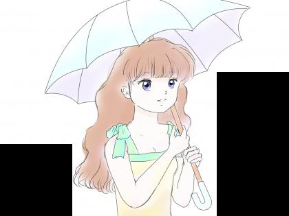日傘カラーべーす