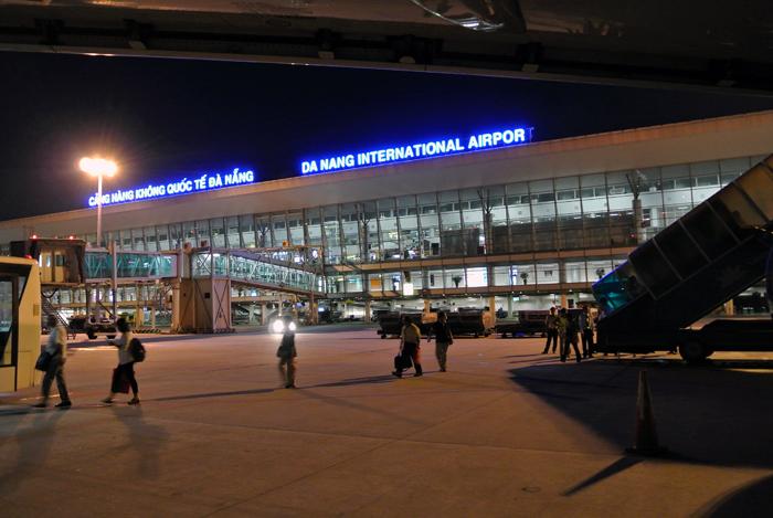 ダナン旅行記 その1 ダナン国際空港1