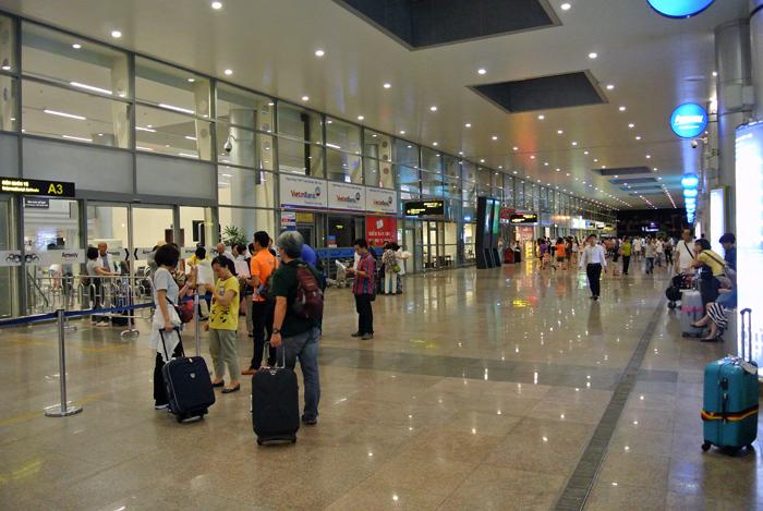 ダナン旅行記 その1 ダナン国際空港2
