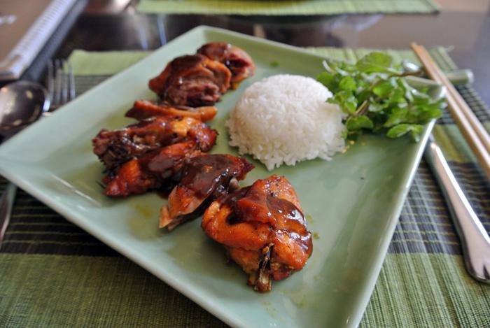 ダナン旅行記 その2 Lam Vien Restaurent チキン