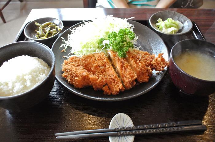 阿佐佳@宇都宮市西川田町 チキンカツ定食