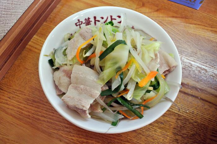 中華トントン@宇都宮市東今泉 Andy特製茹で肉野菜丼