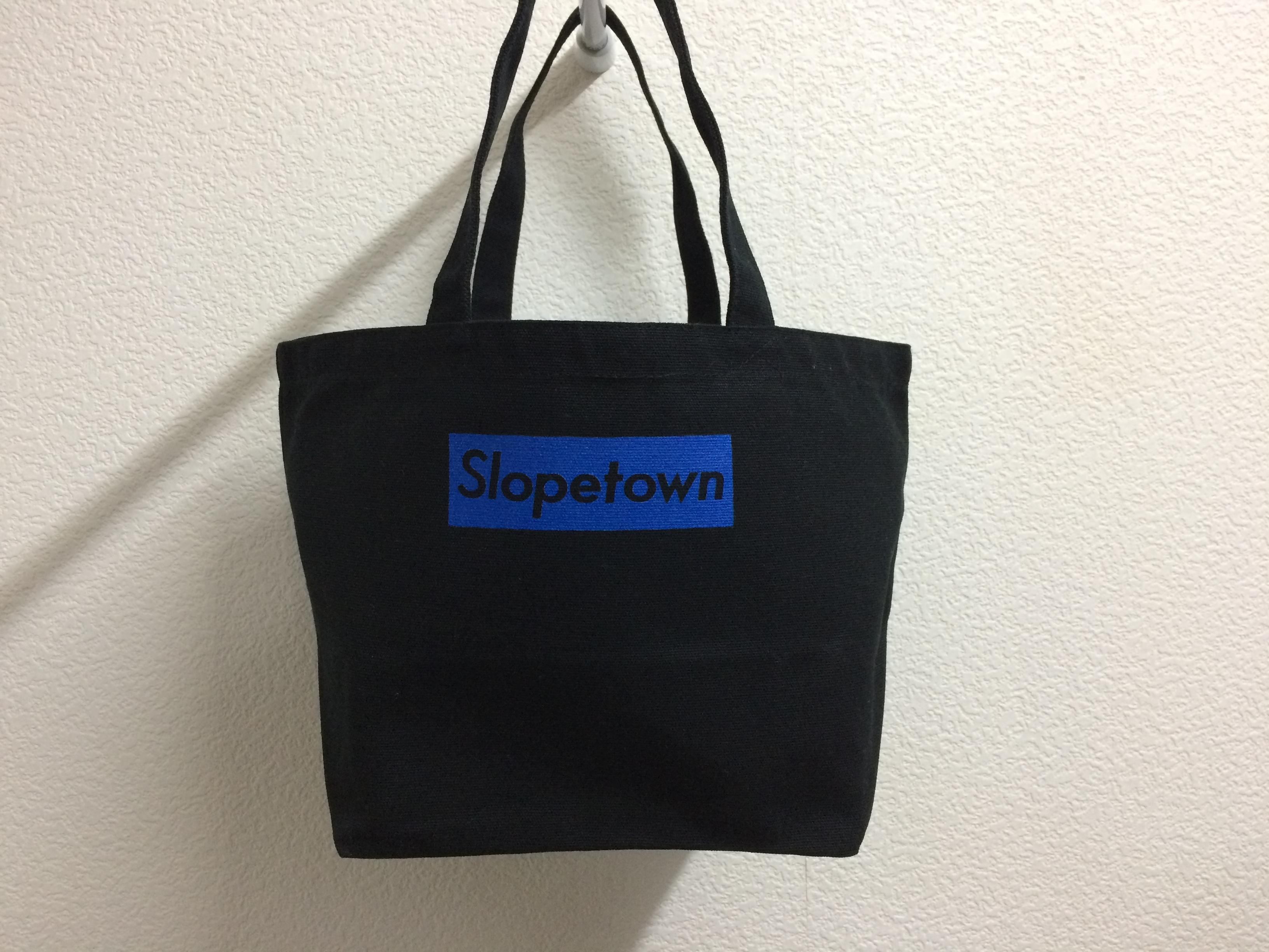 スロープタウンキャンバスバッグ新色ブラックブルー