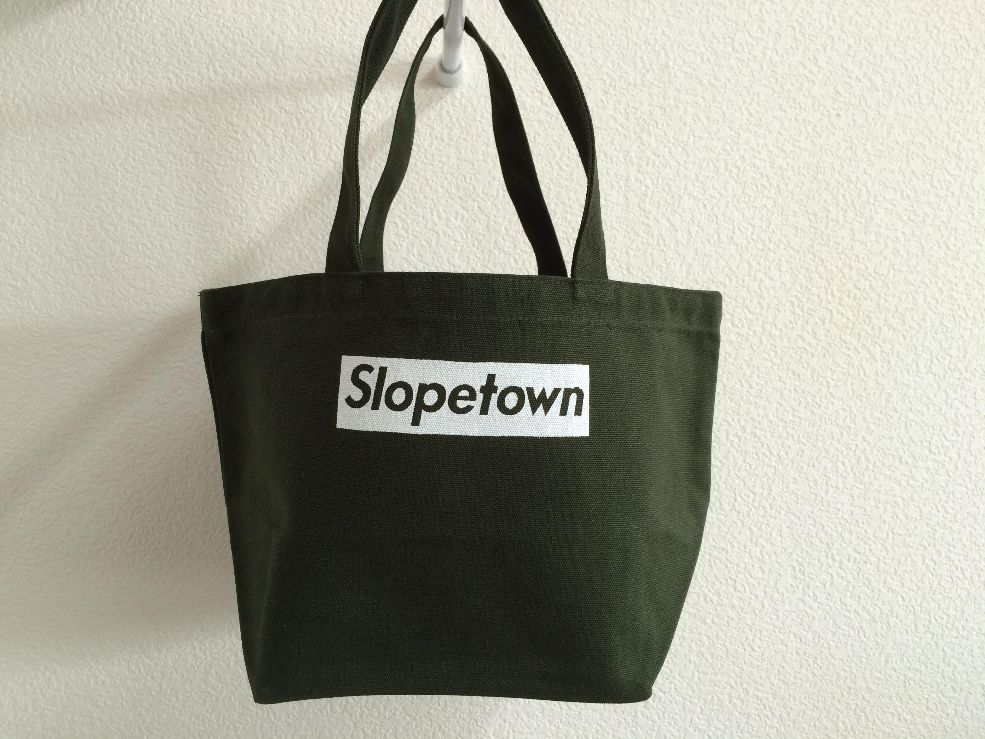 SlopetownキャンバスバッグOD