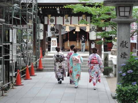 櫛田神社③