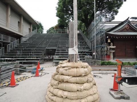 「博多祇園山笠」準備風景④