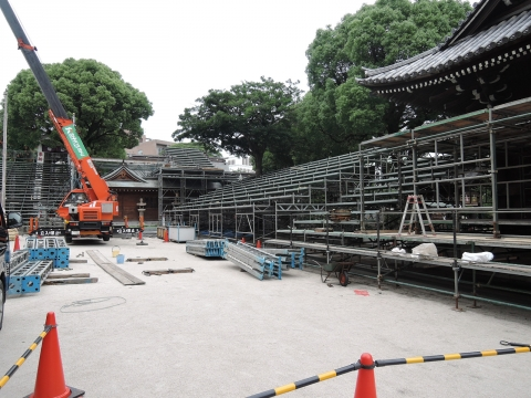 「博多祇園山笠」準備風景⑥