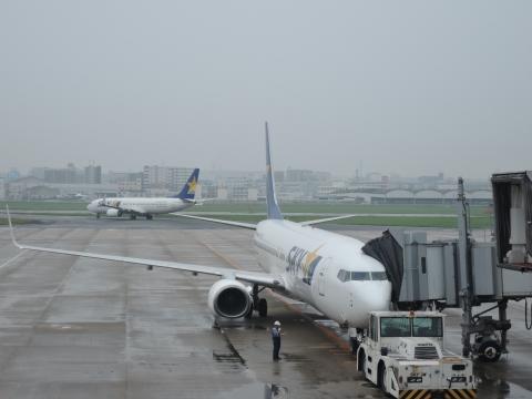 福岡空港出発①
