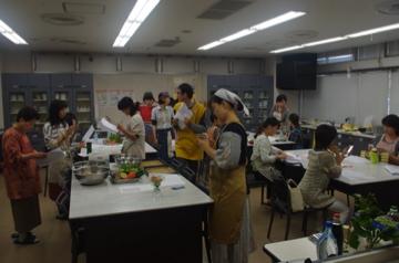 ローフード料理教室