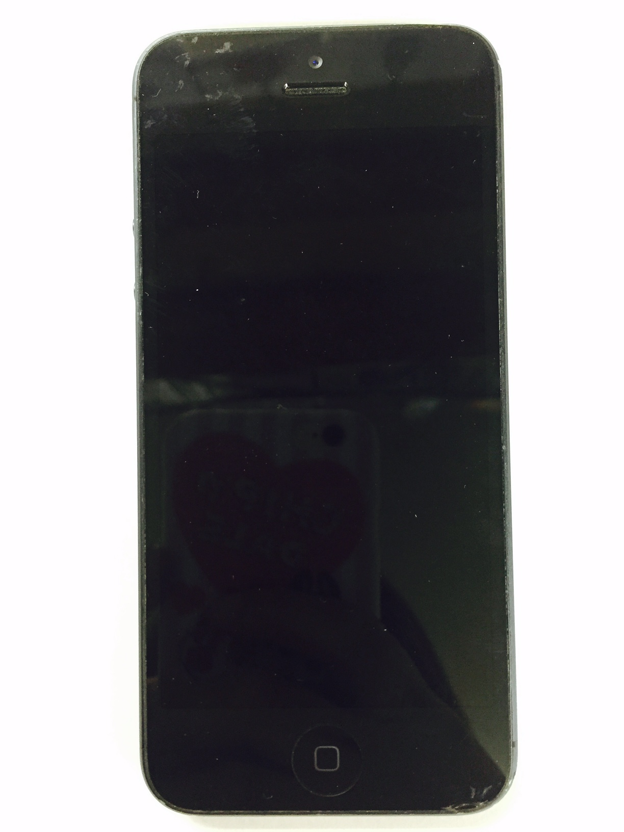 iPhone ジャンク ブラック