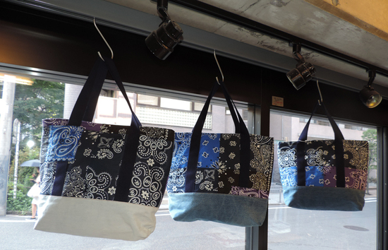 tokyo gimmicks -BLUE LABEL- ONE AND ONLY SERIES BANDANA TOTE RAH SPCIAL 1-thumb-550x354-24755