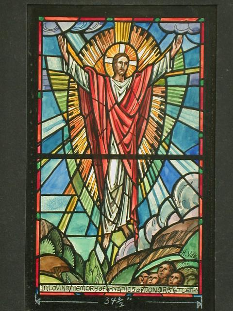 stained-glass-Ascension-memorial-window]-LAMB,__