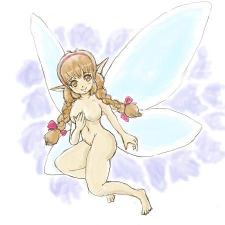 妖精(krita試し描き)