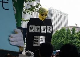 2015614国会前抗議行動3
