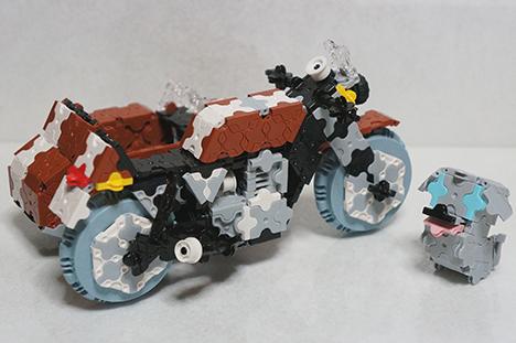 5-3単気筒+サイドカー