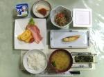 秋田のホテルの和朝食