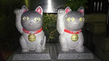 今戸神社、招き猫