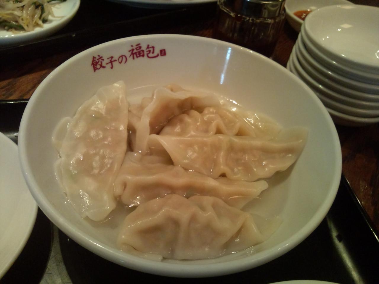 餃子の福包中目黒店(ランチ餃子)