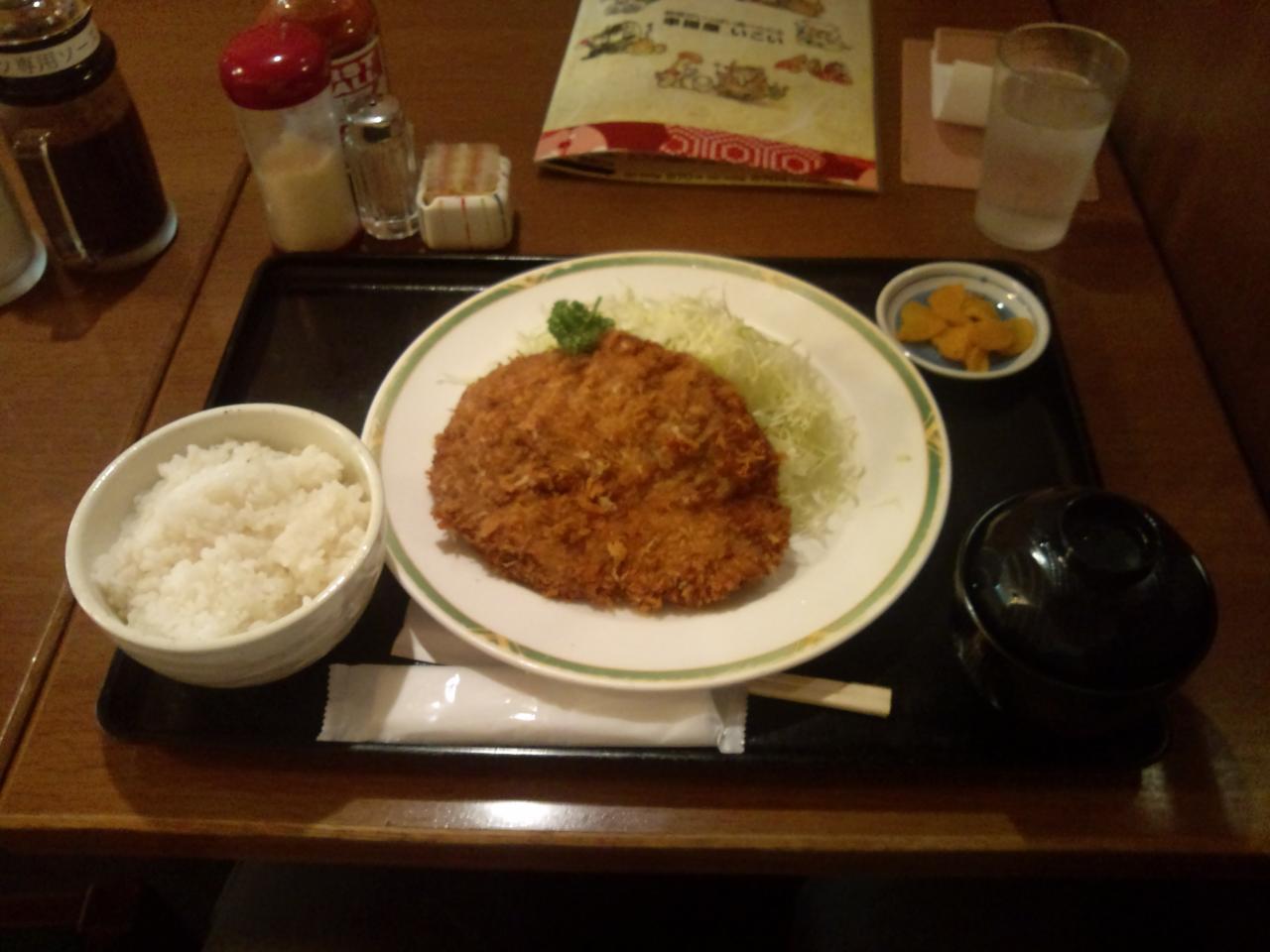 いこい東京店(メンチカツ)