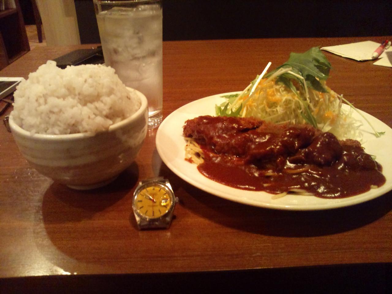 ゆにおん食堂(ビーフカツ)
