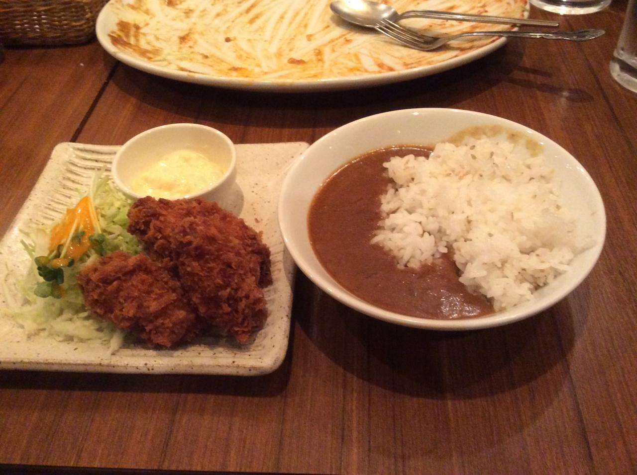 ゆにおん食堂(カキフライ)