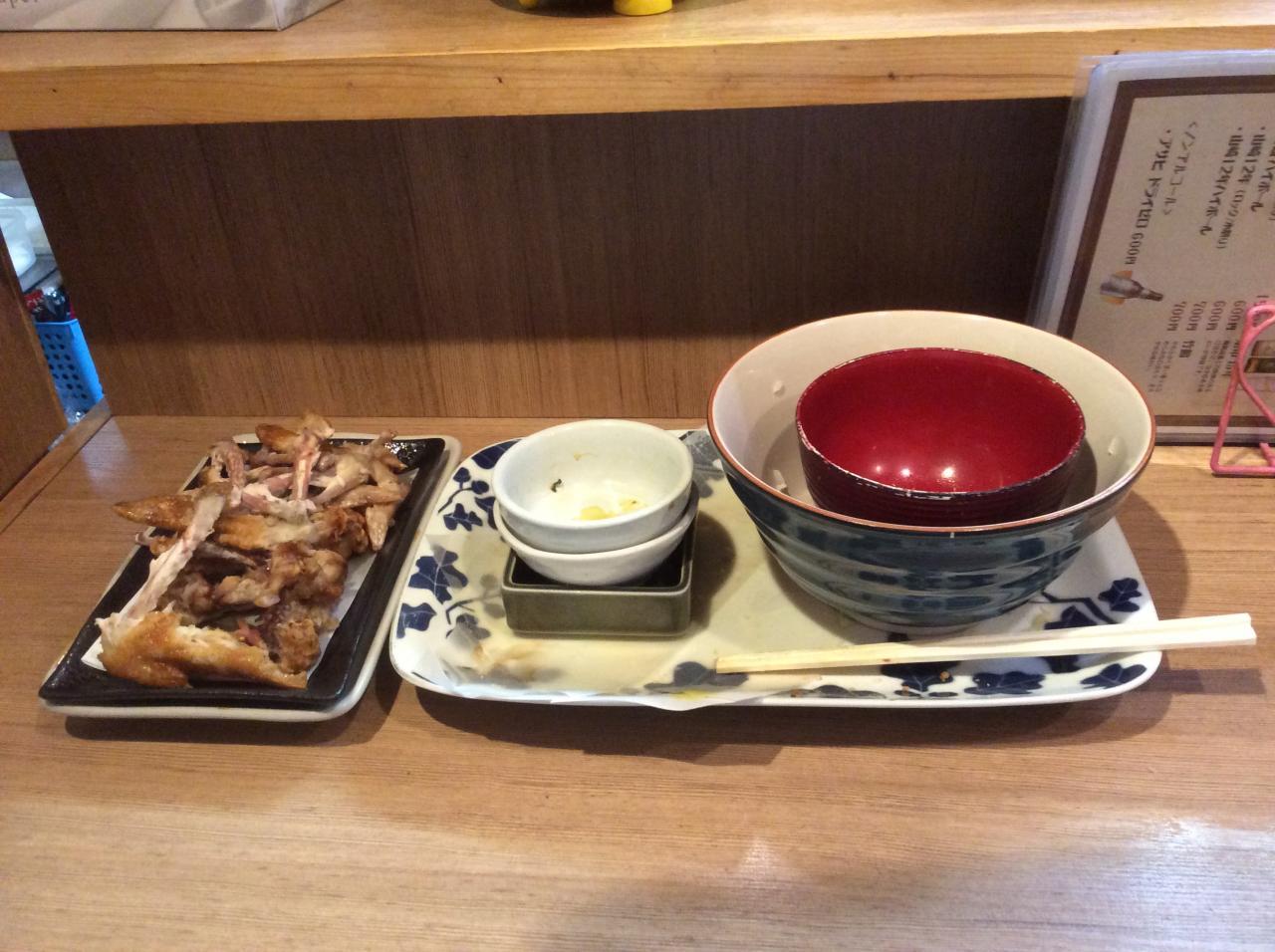 あげ市六角橋店(腹減った定食)